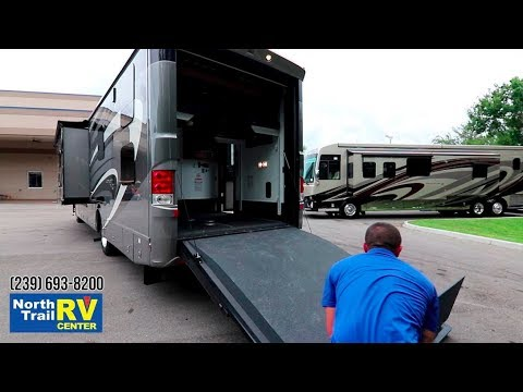 2019 Newmar Canyon Star 3927 Toy Hauler Motorhome on