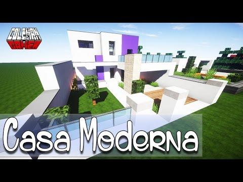 Minecraft como hacer una casa moderna asurekazani for Casa moderna minecraft paso a paso