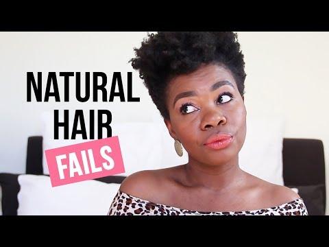 Natural Hair Fails!!! | African Natural Hair Blogger