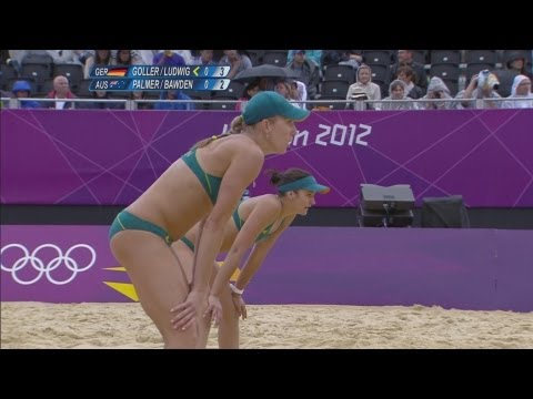 Women's Beach Volleyball Pool E - GER v AUS | London 2012 Olympics