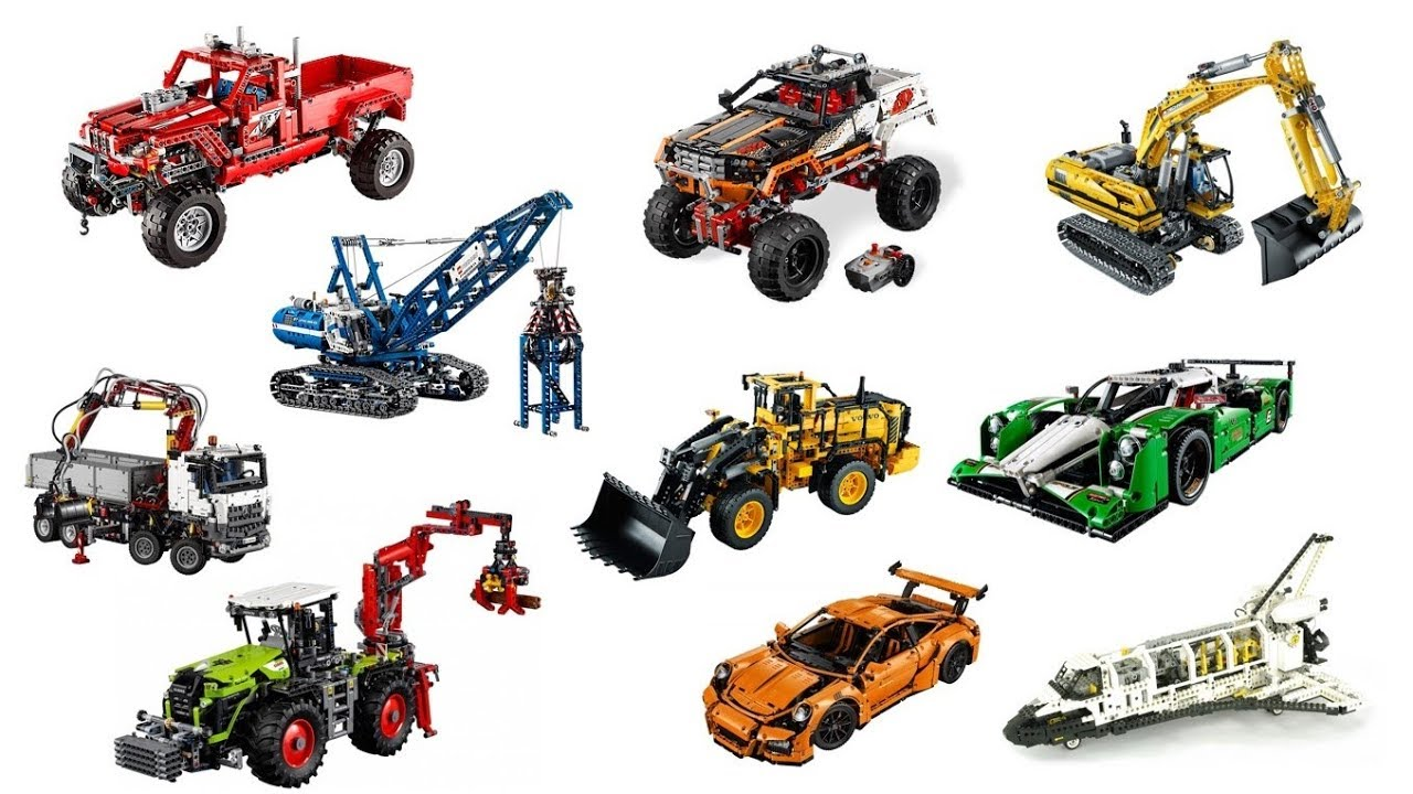 Top 27 Biggest Lego Technic Sets Ever Youtube