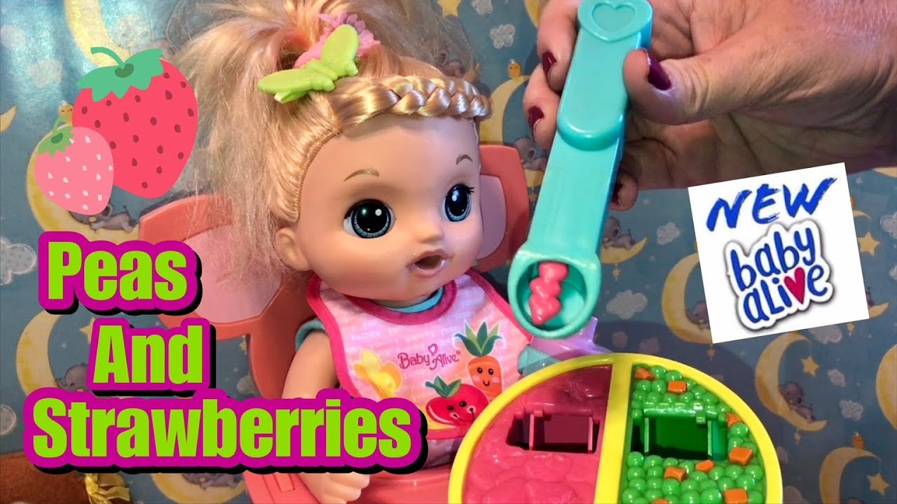 Baby Alive Sweet Tears New Hairstyle And Feeding Youtube