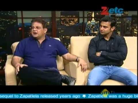 Mahesh Kothare & Adinath Kothare With Komal Nahta