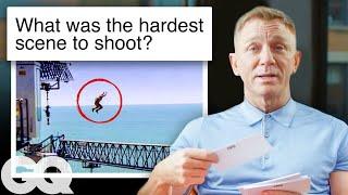 Daniel Craig Answers Questions About James Bond 007 | GQ