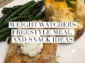 Weight Watchers Freestyle Program Meal and Snack Ideas