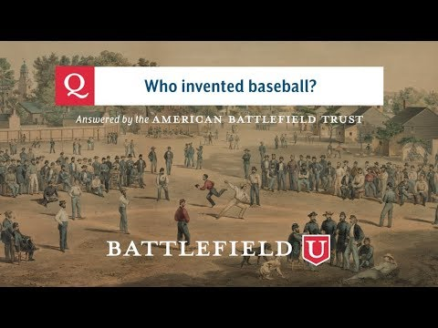 Who Invented Baseball?