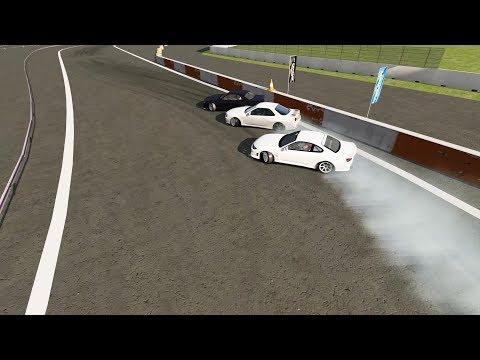 Assetto Corsa | Wheelcam | Tandem Drifting with Hirajima