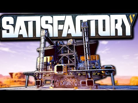 Our First EPIC Machine In Update 3! - Satisfactory Early Access Gameplay Ep 4