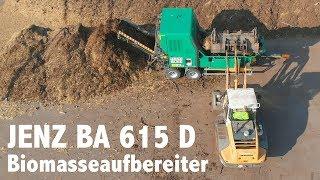 JENZ BA 615 D | Kompakter Biomasseaufbereiter für Kompostierung und Biogasanlagen