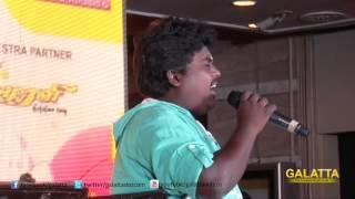 Actor Black Pandi at Online Super Singer
