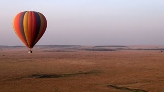Kenya: Hot air balloon safari over Masai Mara