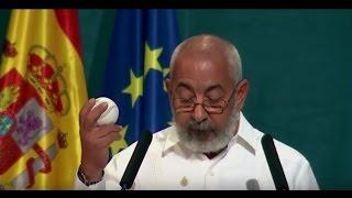 Leonardo Padura en los Premios Princesa de Asturias 2015