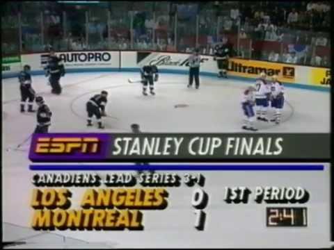 Stanley Cup Finaali 1993 - Kings vs. Canadiens - Ottelu 5