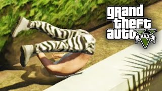 GTA 5 MOST PAINFUL MONTAGE EVER (GTA 5 Fails and Funny Moments)