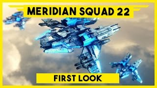 Meridian Squad 22 Gameplay - Sci-Fi Single Player RTS Game - First Look - Let