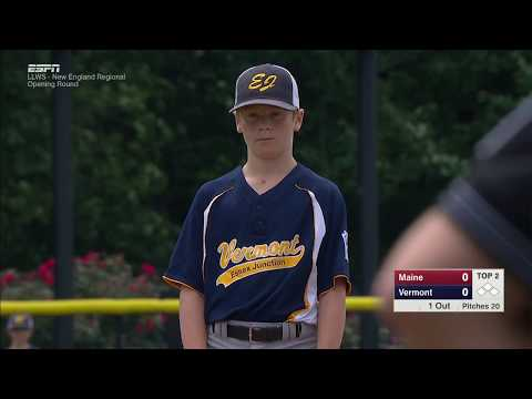 LLWS REGIONALS - South Portland Maine vs  Essex Junction Vermont