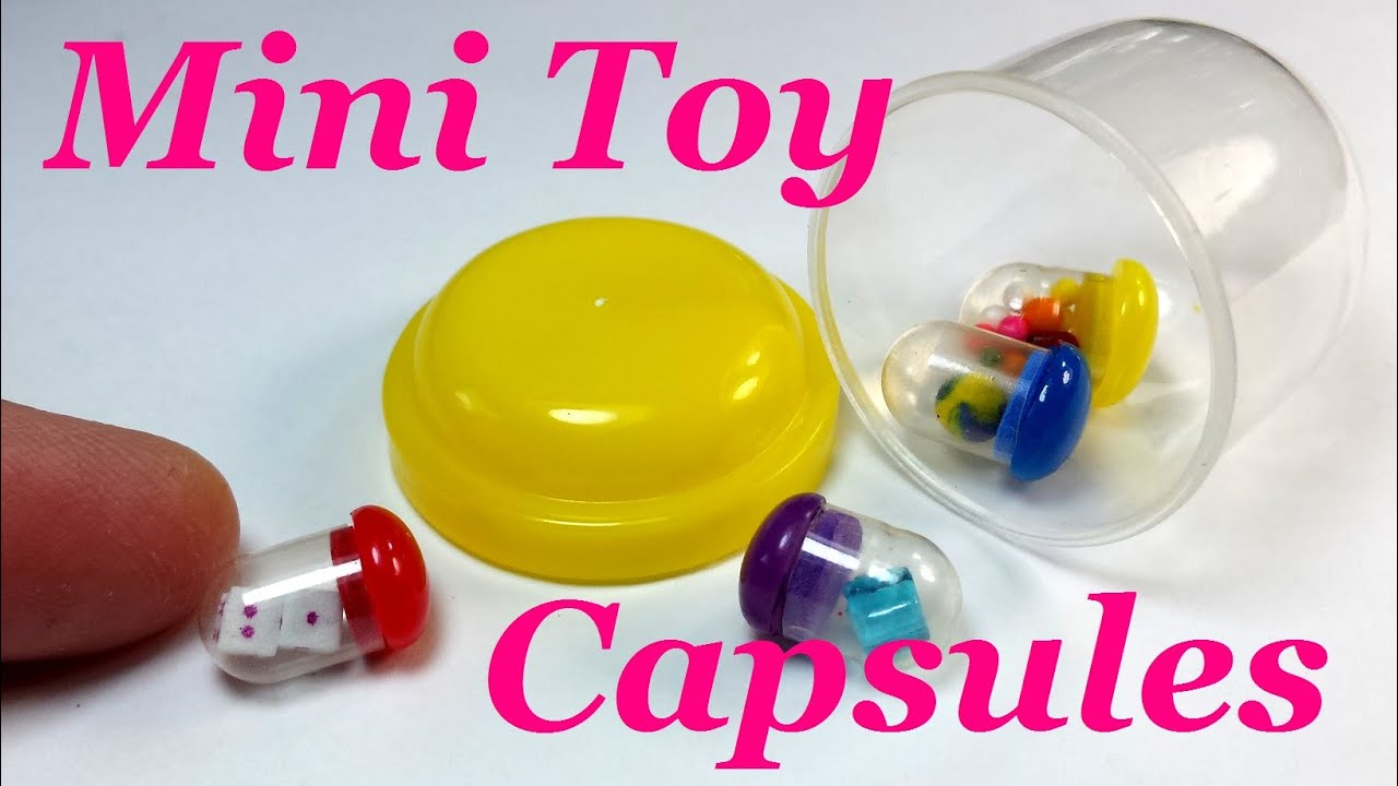 DIY Miniature Doll Toy Capsules Accessories