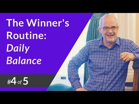The Winner's Routine #4: Daily Balance - Sales Training with Jeff Shore