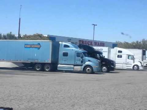 TA truck stop at Barstow California