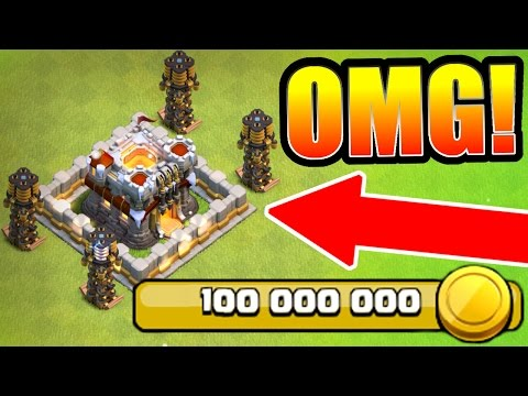 "Thumbnail: Clash Of Clans - WORLD RECORD ""100 MILLION GOLD SPENT"" ON NEW UPDATE UPGRADES!"