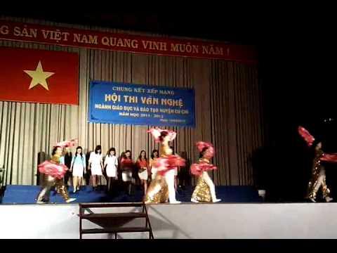 Bài ca cô giáo trẻ- Ca múa - mn Tân Thông Hội 2-Củ Chi