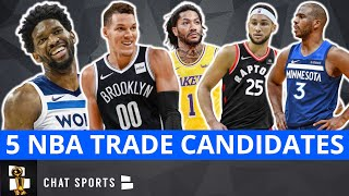 5 Big-Name NBA Players That Could Be Traded | NBA Rumors On Chris Paul, Buddy Hield & Ben Simmons