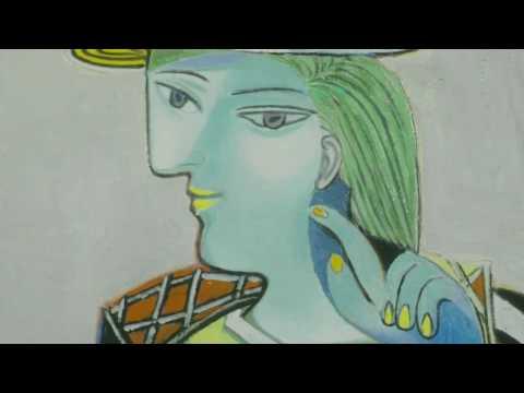 Met Jeroen Krabbé in Picassomuseum Parijs