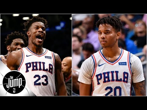 Why Jimmy Butler's comments on Markelle Fultz are so important | The Jump