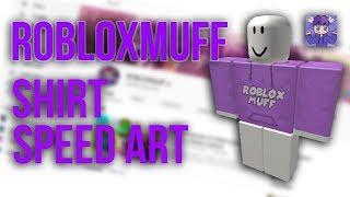 ROBLOXMuff Color Changing Shirt Speedart