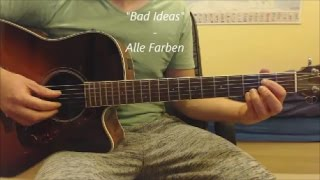 "Gitarren-Tutorial: ""Bad Ideas"" - Alle Farben"