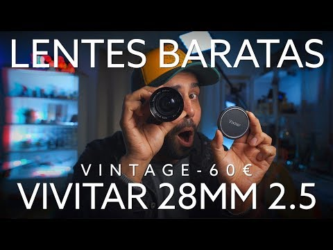 VIVITAR 28MM 2.5 - Lente Fantástica Por 60€