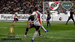 Recreación River Plate 3-1 Boca Juniors - Final Copa Libertadores 2018