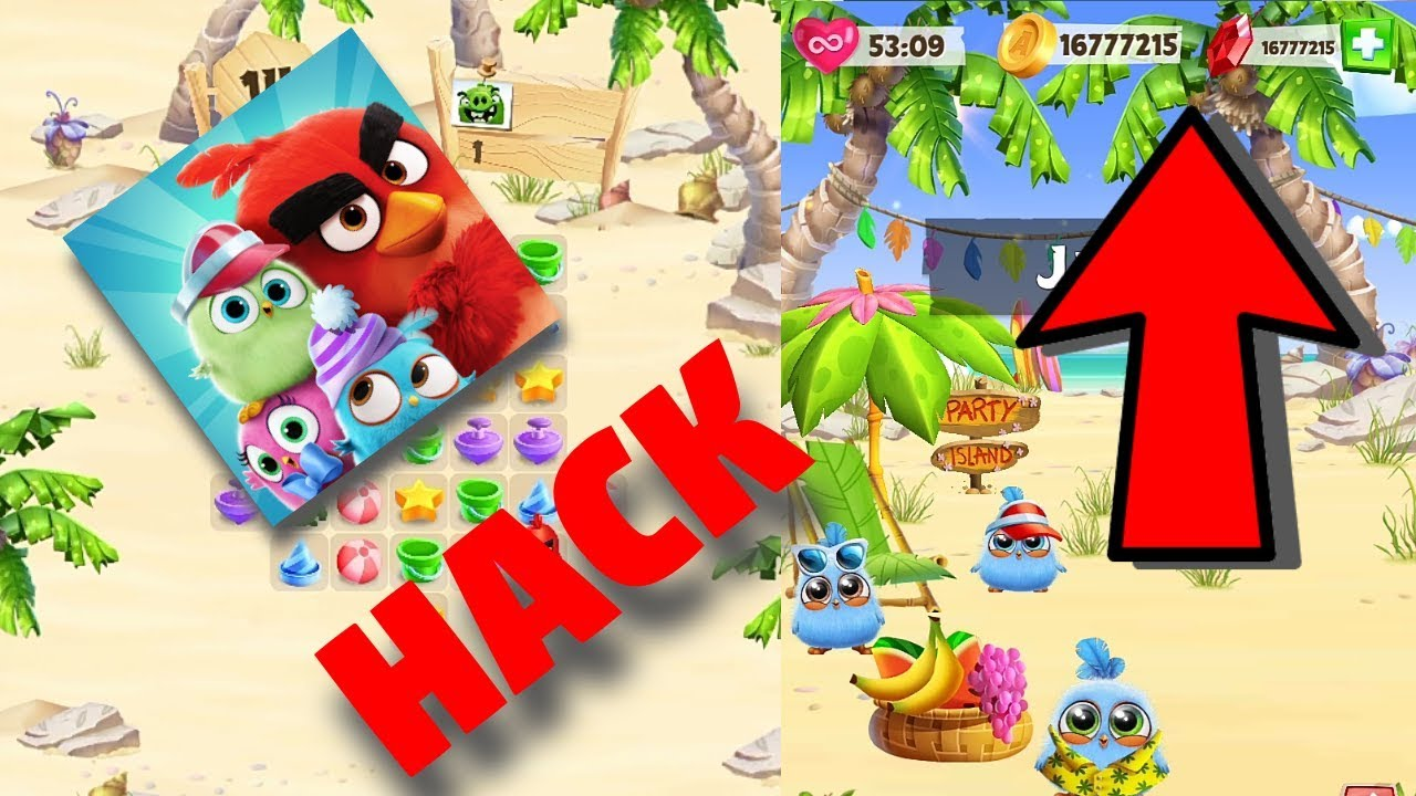 How to hack Angry Birds Match Get Unlimited Coins and Gems - YouTube