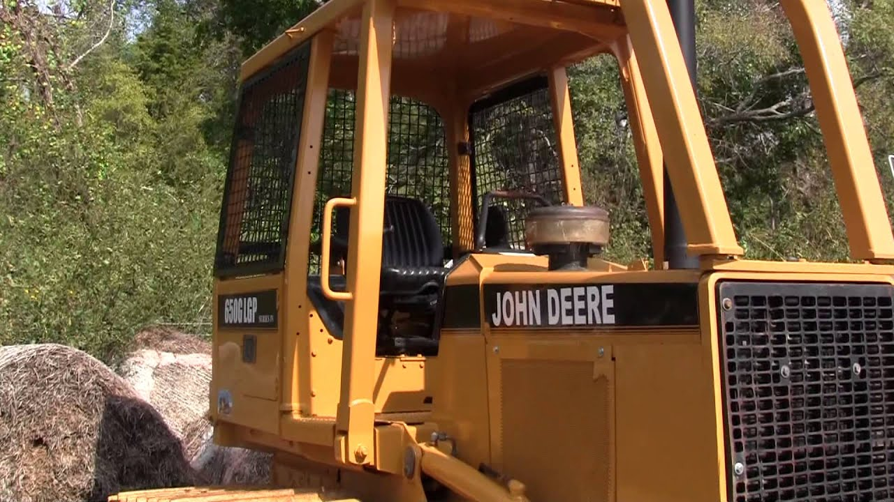 John Deere 650 >> John Deere 650G-LGP Dozer Sold on ELS! - YouTube