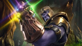 NEW THANOS INFINITY GAUNTLET GAMEPLAY - FORTNITE AVENGERS LTM LIVE!