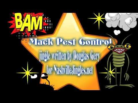 NASHVILLE JINGLES / Mack Pest Control commercial jingle