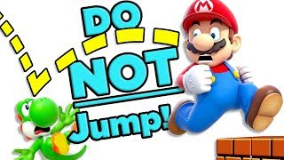 Mario, DON'T JUMP! Calculating the Danger of the Yoshi Sacrifice! | The SCIENCE of... Mario