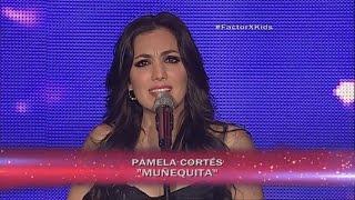 Pamela Cortés - Muñequita  | (Programa 14) 8va Gala Factor X Kids Ecuador 2015