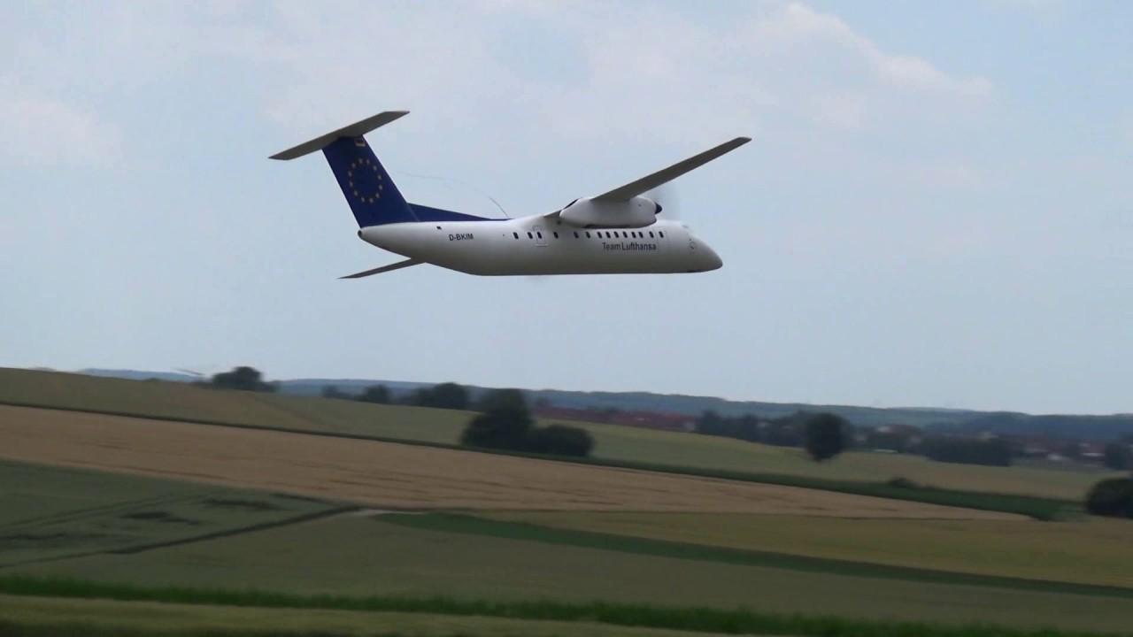 RC Model Airliner Bombardier Dash 8 Q300