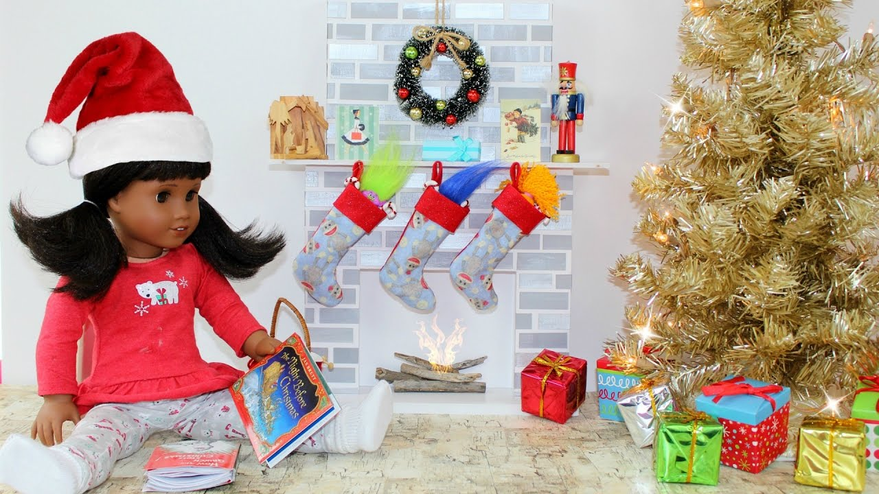 Diy American Girl Doll Fireplace