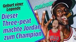 "So gewann MICHAEL JORDAN seinen ersten Titel-Hattrick - ""The last Dance"" Pre-Show | Crunchtime NBA"