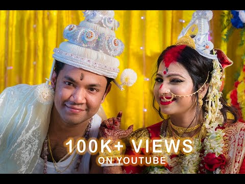 Sukhamay weds Puja || Bengali Full Cinematic wedding video 2018 || The Moment Tales