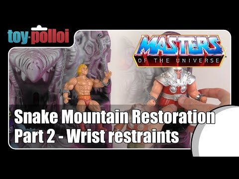 Fix it Guide - MOTU Snake Mountain restoration part 2 - Toy Polloi