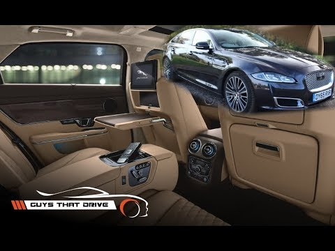 The Jaguar XJL Autobiography: Four Ordinary Guys Review Total British Luxury