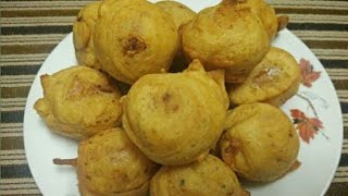 Potato Balls Recipe   How to Make Fried Potato Balls by homemade food   Ramzan Special Snacks