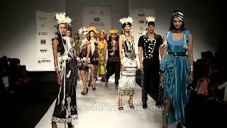 Arunachali designer Tonu Riba in Delhi