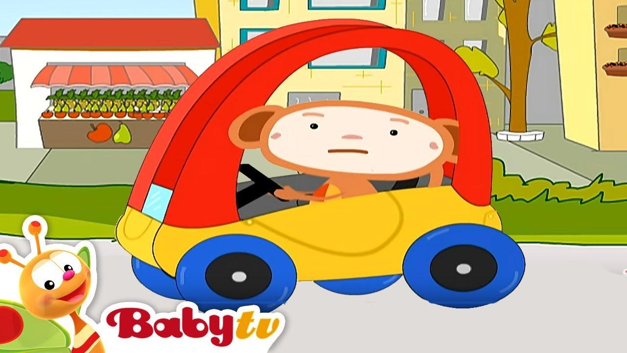 Colorful Car Oliver Babytv You