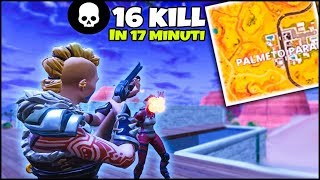 THE 16 KILL in 17 MINUTES! FORTNITE ITA PC THE KING OF PALMETO PARADISIACO! REAL VICTORY