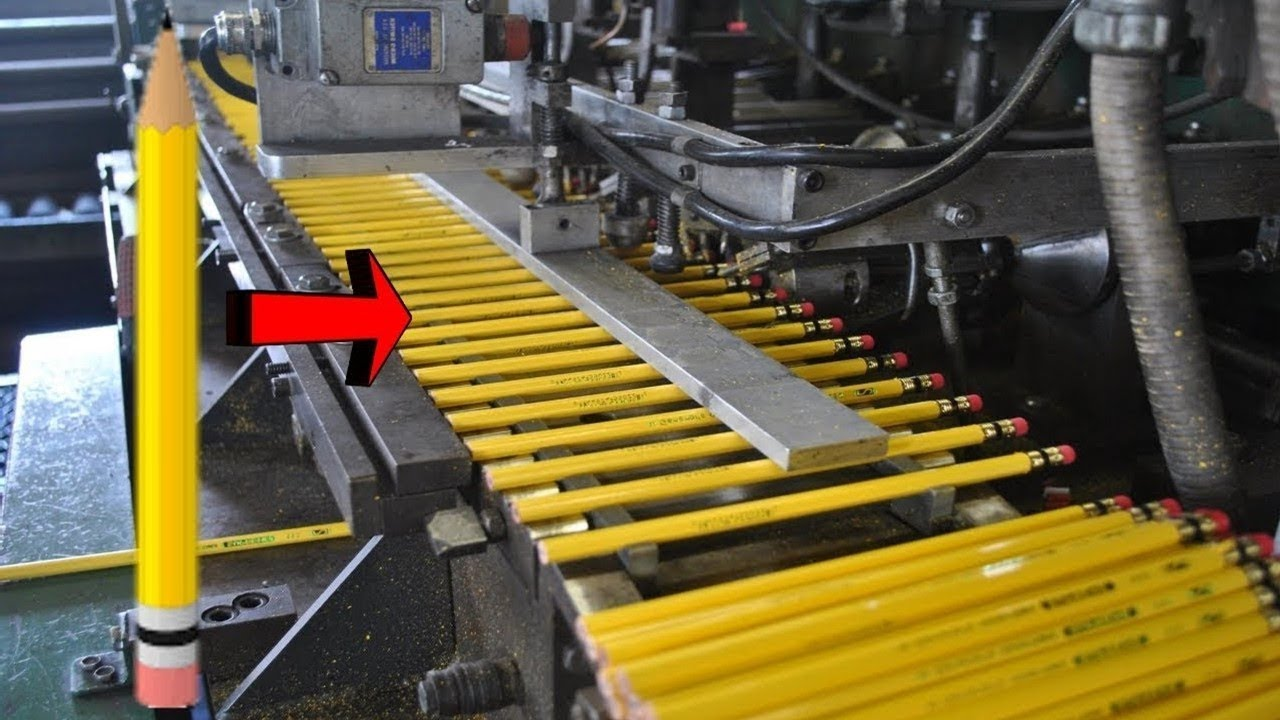 देखिए फैक्ट्री में कैसे बनती है कलर पेंसिल   Color Pencil Making Factory