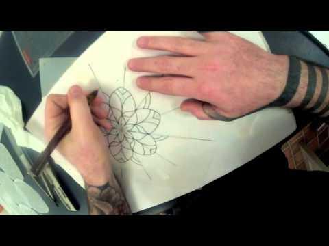Irish Street Tattoo How I Draw A Flower Mandala